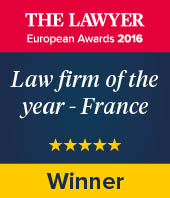Law firm of the year - France